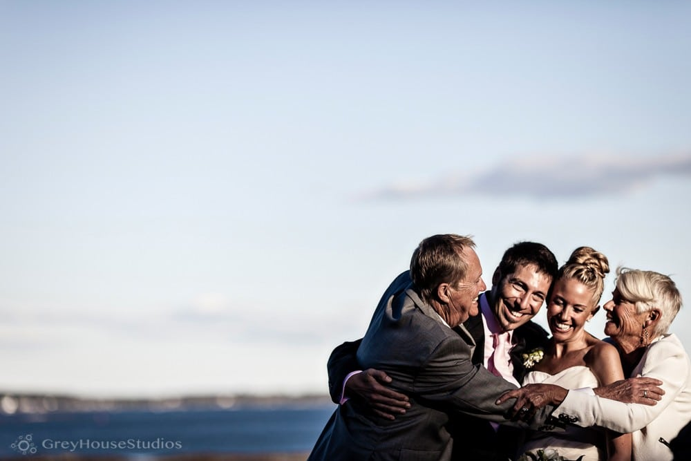 Sarah + Mike's Seaside Backyard Wedding in Falmouth, ME photography by GreyHouseStudios