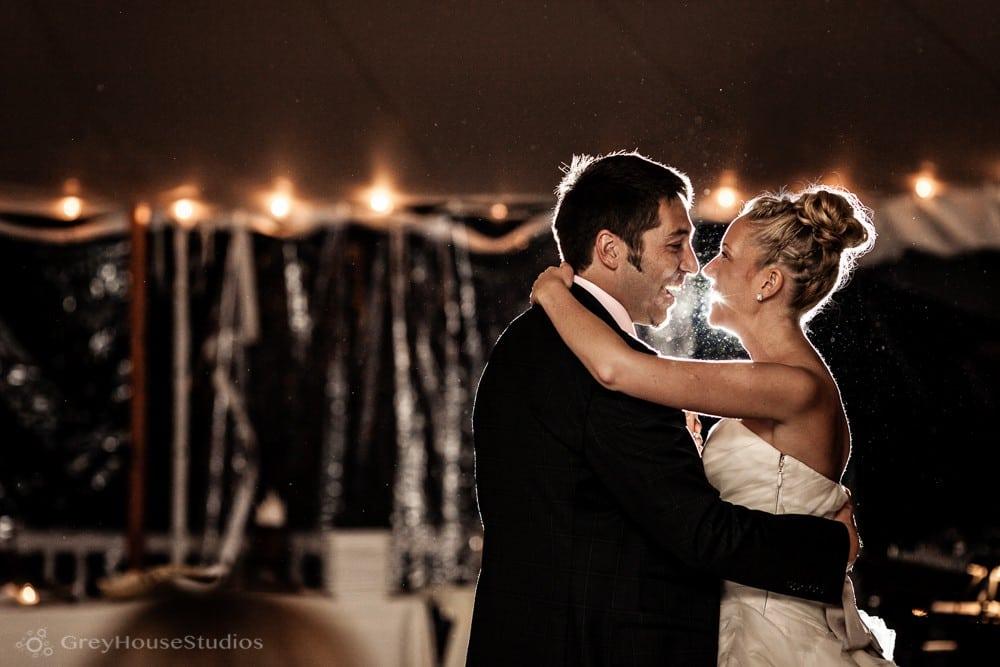Sarah + Mike's Seaside Backyard Wedding in Falmouth, ME photography by GreyHouseStudios