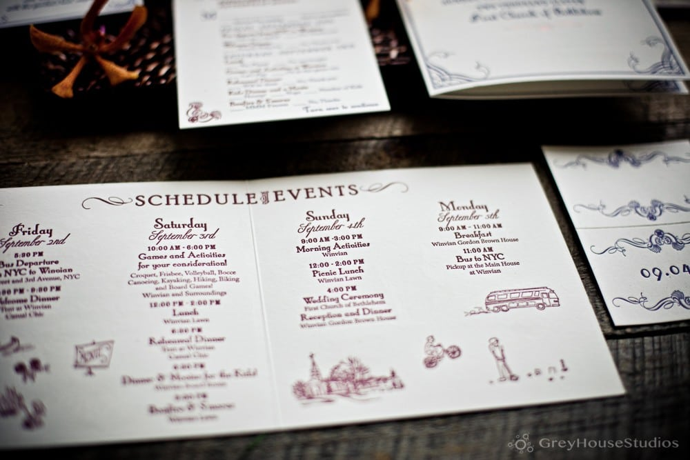 Katie + Rob's Winvian Game Day & Welcome Dinner photos in Morris, CT by GreyHouseStudios