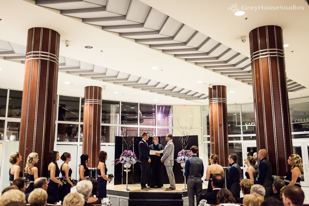 Chris + Dan's Gershon Fox Ballroom Wedding photos in Hartford, CT photography by GreyHouseStudios