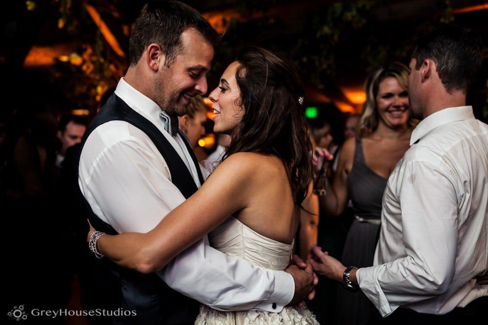 winvian wedding reception photos groom and bride dancing