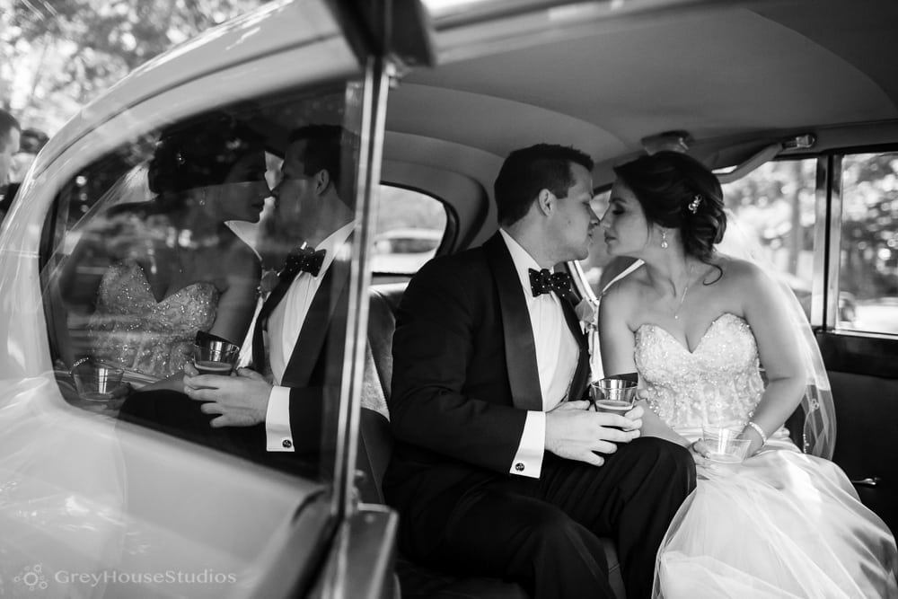 long island mineola wedding photos bride groom portraits antique car
