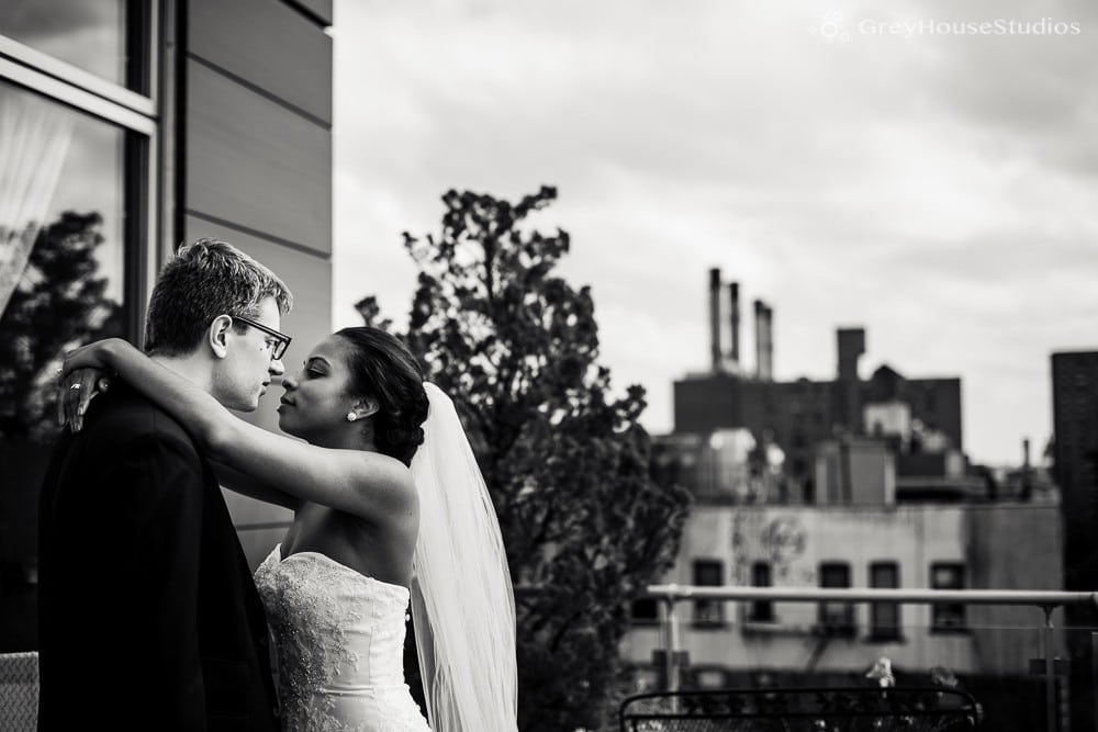 east village nyc rooftop first look photos before wedding