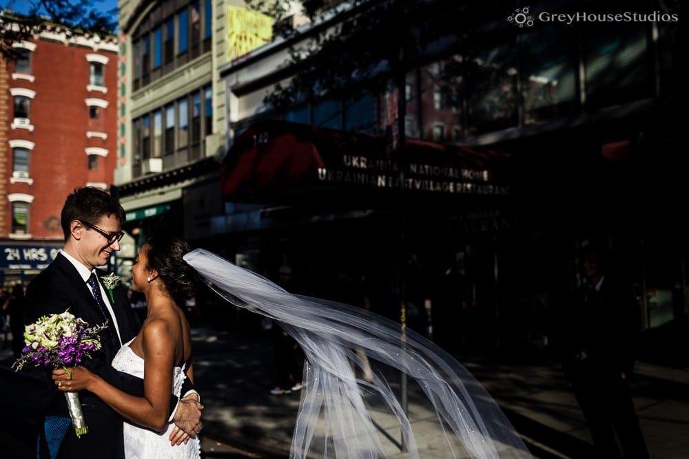 nyc east village wedding couples portraits photos