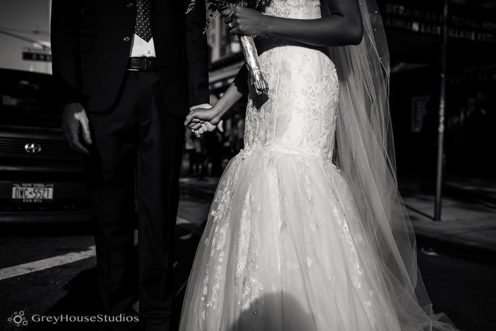 nyc east village wedding bride groom portrait photos