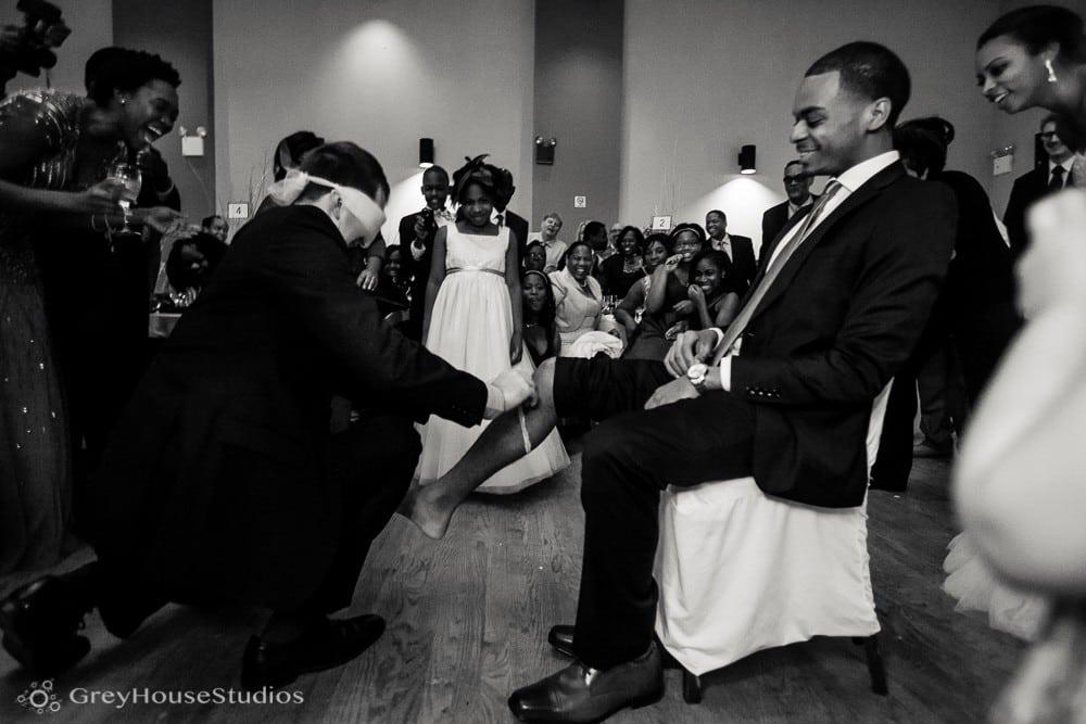 ukrainian east village nyc wedding reception garter photos
